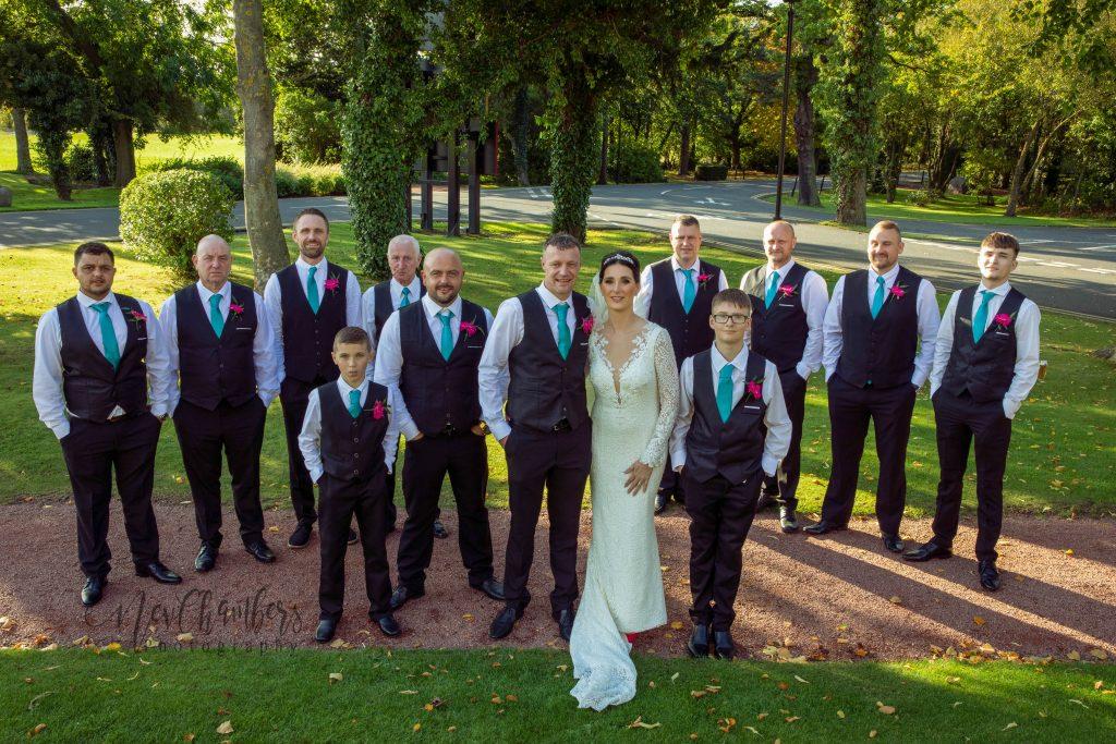 groomsmen, bride, Ramside, durham, wedding, day